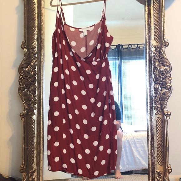 Forever 21 Dresses & Skirts - Forever 21 Polka dot dress